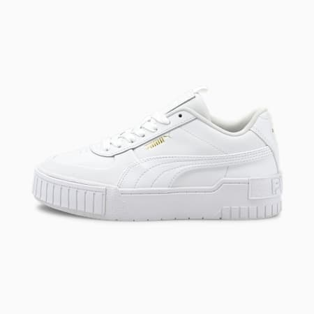 Cali Sport Youth Trainers, Puma White-Puma White, small