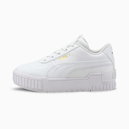 Cali Sport Kinder Sneaker, Puma White-Puma White, small