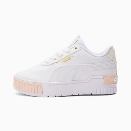 Cali Sport Kinder Sneaker, Puma White-Whisper White, small