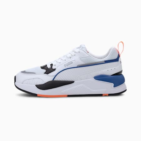 X-Ray 2 Square SoftFoam+ Kid's Shoes, Puma White-Puma White-Puma Black-Gray Violet-Puma Silver, small-IND