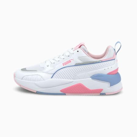X-Ray 2 Square SoftFoam+ Kid's Shoes, Puma White-Puma White-Pink Lady-Forever Blue, small-IND