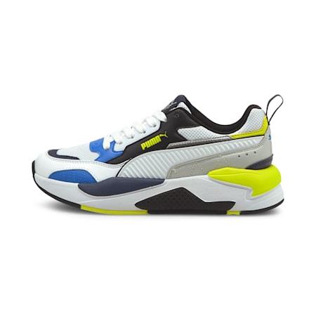 X-Ray 2 Square SoftFoam+ Kid's Shoes, Puma White-Puma Black-Nebulas Blue-Puma Silver, small-IND