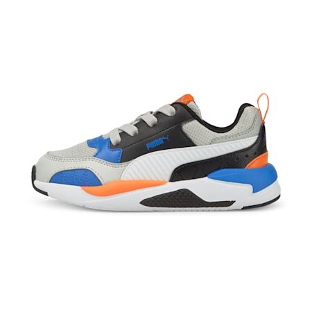 X-Ray 2 Square Kids' Shoes, Gray Violet-Puma White-Puma Black-Nebulas Blue, small-IND