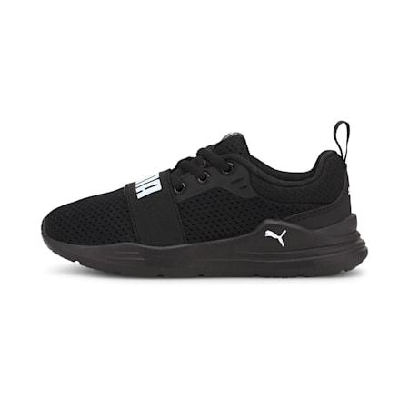 Wired Run Kids' Shoes, Puma Black-Puma White, small-IND