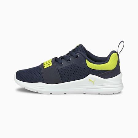 Wired Run sneakers voor kinderen, Peacoat-Sulphur Spring, small