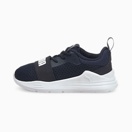 Wired Run Baby Sneaker, Peacoat-Puma White-Puma White, small