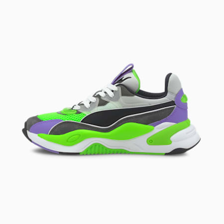 RS-2K Internet Exploring Youth Trainers, Dark Shadow-Fluo Green, small-GBR
