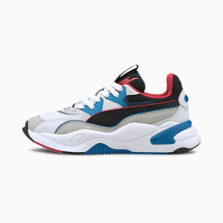 RS-2K Internet Exploring Youth Trainers, Puma White-Lapis Blue, small