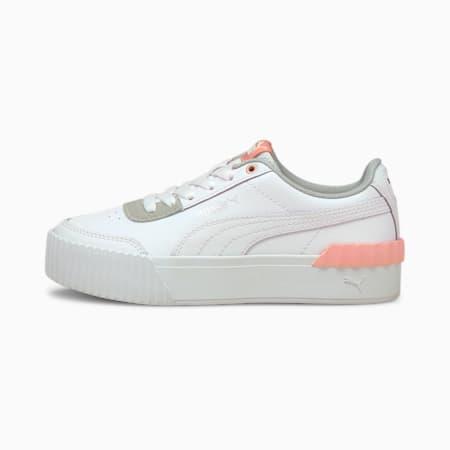 Carina Lift sneakers jongeren, Puma White-Puma White, small