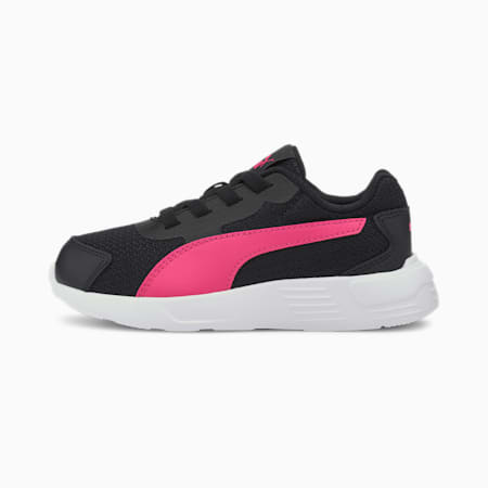 プーマ テイパー AC PS スニーカー 17-21cm, Puma Black-Pink-White, small-JPN