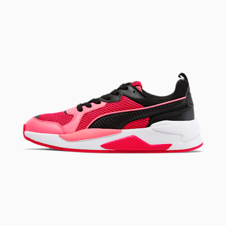 X-RAY Glitch Women's Sneakers, BRIGHT ROSE-Bubblegum-Black, small