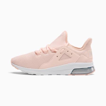 Zapatos deportivos Electron Street para mujer, Rosewater-Gray Violet-White, pequeño
