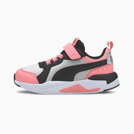 X-RAY Glorious Little Kids' Shoes, Salmon Rose-Black-Gray-White, small