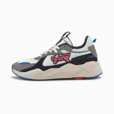 RS-X Japanorama Shoes, Puma White-Steel Gray, small-IND