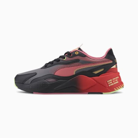 PUMA x SONIC RS-X Color Trainers, Puma Black-High Risk Red, small