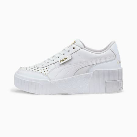 PUMA x CHARLOTTE OLYMPIA Cali Wedge Women's Sneakers, Puma White-Puma White, small