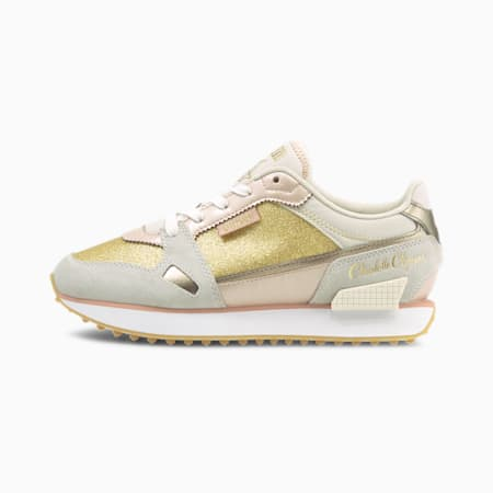 PUMA x CHARLOTTE OLYMPIA Mile Rider Women's Sneakers, Puma White-Misty Rose, small