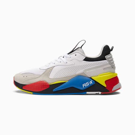 Zapatos deportivos RS-X Toys Reinvention, Puma White-Gray Violet, pequeño
