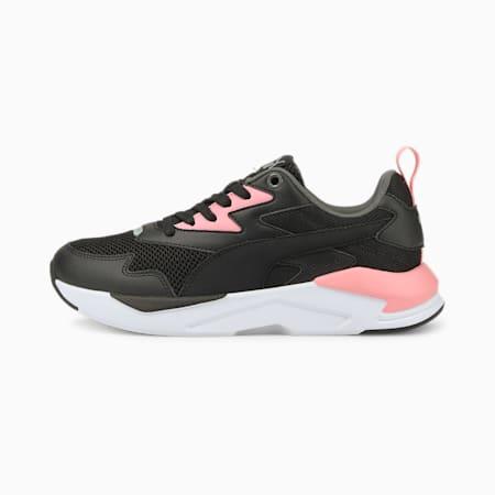 X-Ray Lite Jugend Sneaker, Puma Black-Puma Black-Peony-Puma Silver-Dark Shadow, small