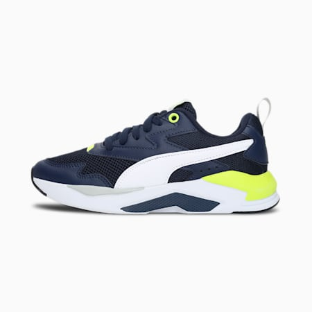X-Ray Lite SoftFoam+ Kid's Shoes, Peacoat-Puma White-Yellow Alert, small-IND