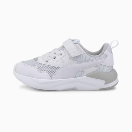 Basket X-Ray Lite Kids, Puma White-Puma White-Gray Violet-Puma Silver, small