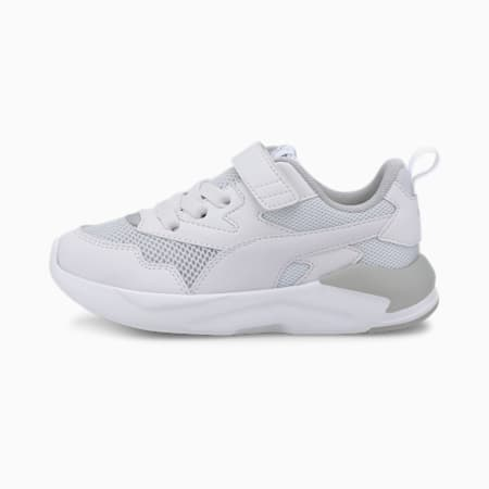 X-Ray Lite Kids' Trainers, White-White-Gray-Silver, small