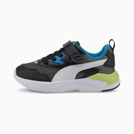 X-Ray Lite IMEVA Kids' Shoes, Blk-White-Shadow-Blue-Green, small-IND