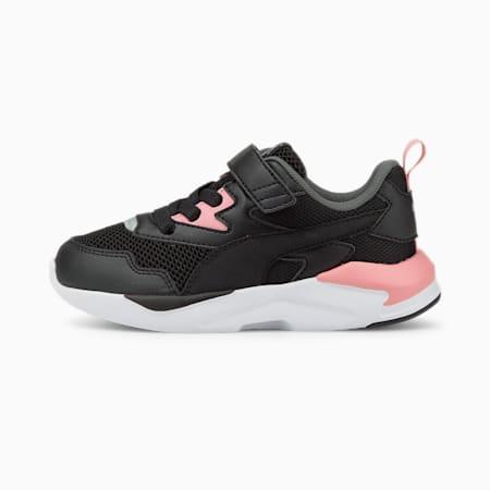 X-Ray Lite Kids Sneaker, Puma Black-Puma Black-Peony-Puma Silver-Dark Shadow, small