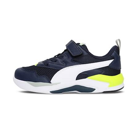X-Ray Lite IMEVA Kids' Shoes, Peacoat-Puma White-Yellow Alert, small-IND