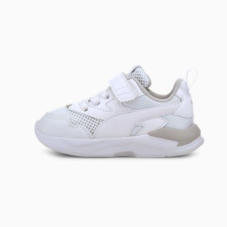 Niemowlęce buty sportowe X-Ray Lite, Puma White-Puma White-Gray Violet-Puma Silver, small
