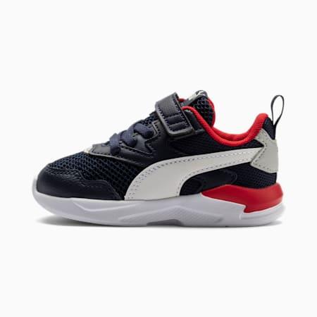 Buty sportowe X-Ray Lite dla małych dzieci, Peacoat-White-High Risk Red, small