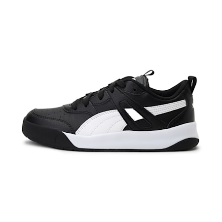 Backcourt IMEVA SoftFoam+ Kid's Shoes, Puma Black-Puma White, small-IND