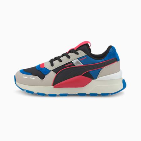 RS 2.0 Futura Sneakers JR, Gray Violet-Lapis Blue, small
