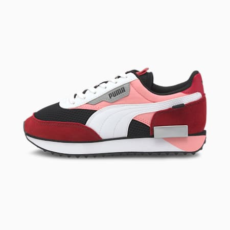 Future Rider Galaxy sportschoenen voor jongeren, Puma Black-Salmon Rose, small