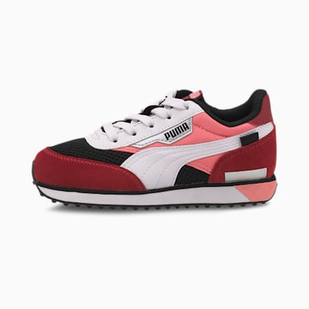 Future Rider Galaxy Kids Sneaker, Puma Black-Salmon Rose, small