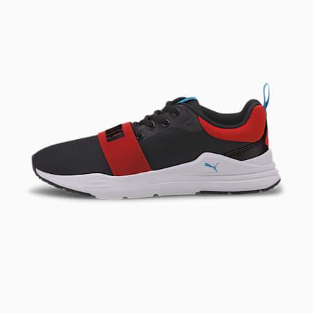 Wired Run Agile IMEVA Kid's Shoes, Puma Black-Puma Black, small-IND