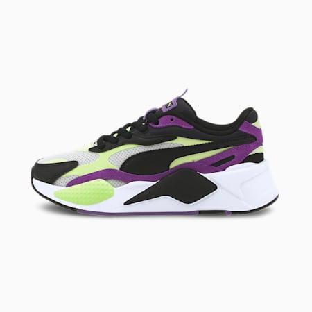 RS-X³ Bright sportschoenen voor jongeren, Sharp Green-Ultra Violet, small