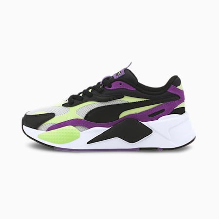 RS-X³ Bright Sneakers JR, Sharp Green-Ultra Violet, small
