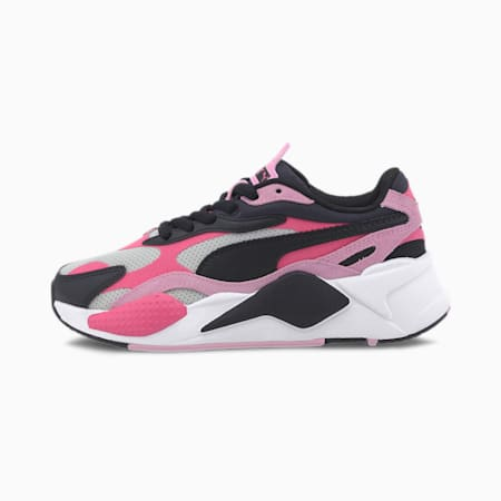 RS-X³ Bright Sneakers JR, Glowing Pink-Pale Pink-Black, small