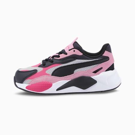 Dziecięce buty sportowe RS-X³ Bright, Glowing Pink-Pale Pink-Black, small