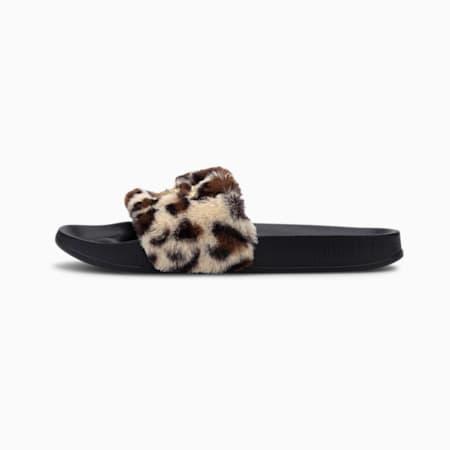 Leadcat Leo CMEVA Women's Sandals, Puma Black-Gold, small-IND