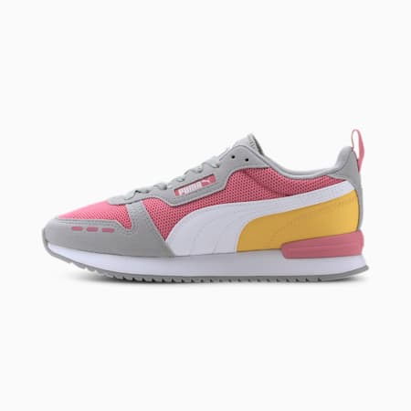 PUMA R78 Women's Sneakers, Bubblegum-High Rise- White, small