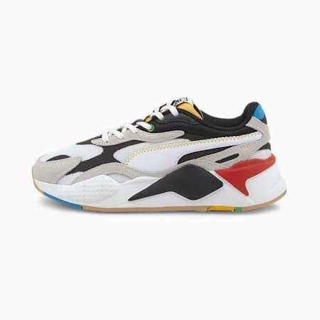 RS-X³ WH Kids' Sneakers JR, Puma White-Puma Black, small