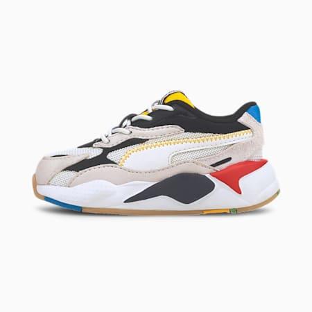 RS-X³ WH Toddler Shoes, Puma White-Puma Black, small