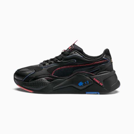 PUMA x SONIC RS-X Black Youth Trainers, Puma Black, small