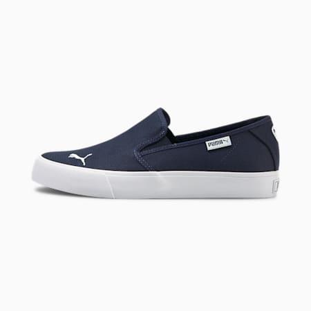 Bari Slip-On Women's Shoes, Peacoat-Puma White, small
