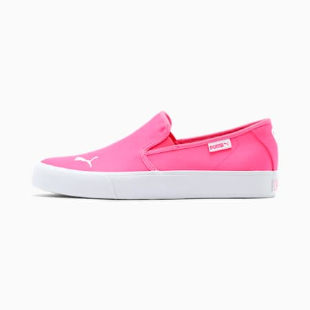Bari Slip-On Women's Shoes, Fluo Pink-Puma White, small