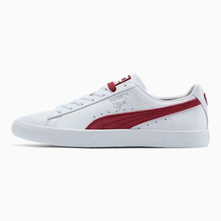 Zapatos deportivos PUMA x DEF JAM Clyde, Puma White-Cordovan, pequeño