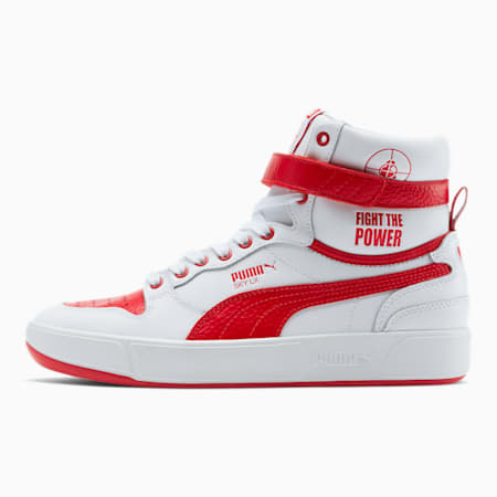 PUMA x PUBLIC ENEMY Sky LX Sneakers, Puma White-High Risk Red, small