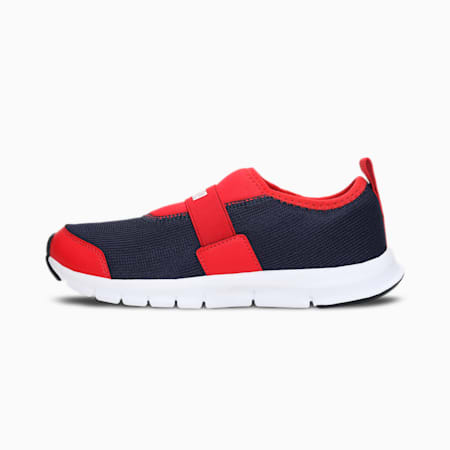 Puma Flex JR IDP, Peacoat-High Risk Red-White, small-IND